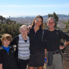 Our family in Barcelona, March 2010