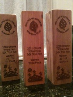 my ohlone thick wood trophies