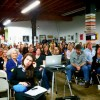 The audience at our Meet, Plan, Go! event