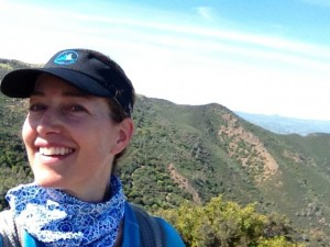 On top of Mount Diablo's Eagle Peak last Friday.