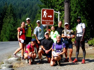An Adventure Running Co. group from a tour last summer.