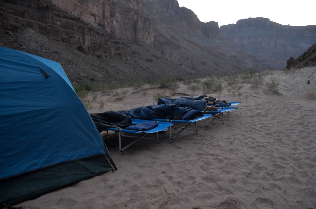 One of our family's campsites (all photos by my husband, Morgan Smith).