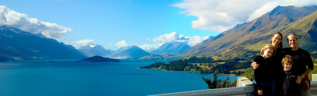 Once upon a time, we traveled and lived all around New Zealand ...
