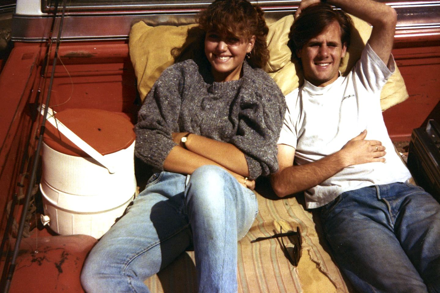 In 1985, I introduced my boyfriend and future husband Morgan to the family tradition of 4-wheel-driving over the San Juan Mountain passes, bouncing along on a ratty old mattress in the back of Dad's truck and stopping to fish along the way.