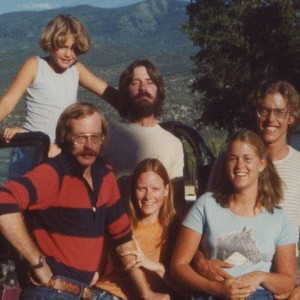 Me at age 9 with my four older sibs and a brother-in-law near Telluride in 1978.