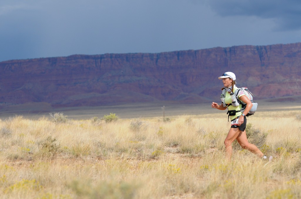 Sarah Lavender Smith running Grand to Grand Ultra