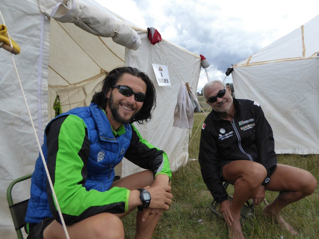 The two Italians of Hualapai: Michele and Roberto. Photo by Simon Dodd
