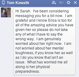 tom message 1
