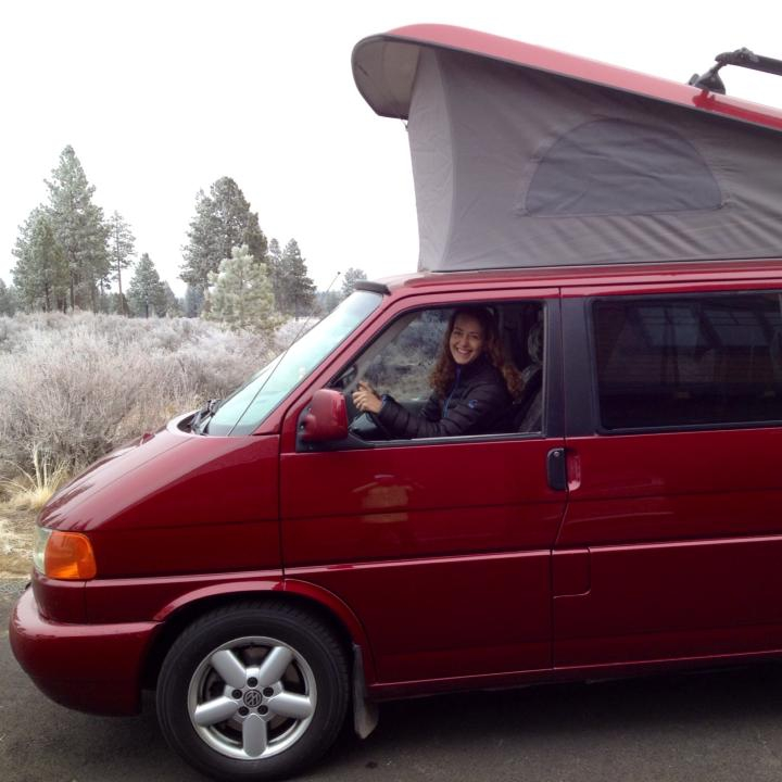 My new van, Ruby