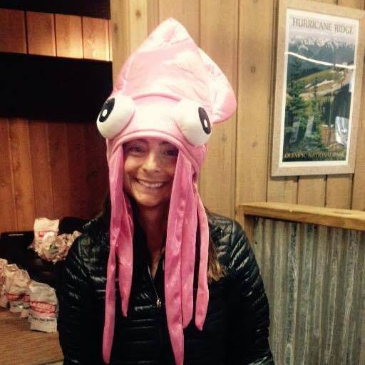 The squid hat.