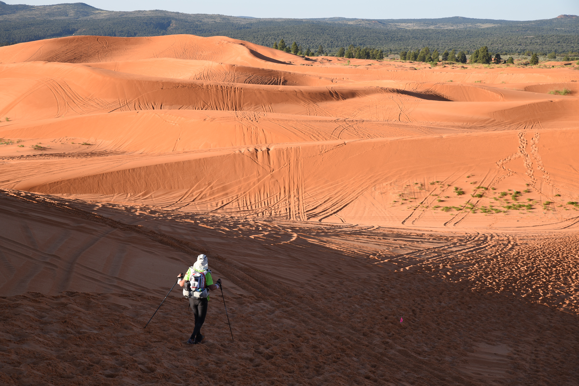 Another view of Stage 3's dunes.