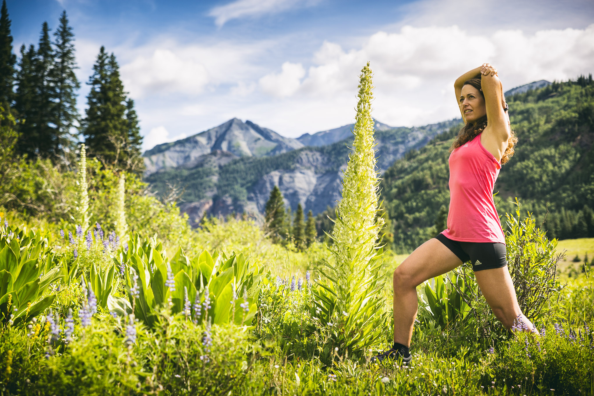 Unplug, look around, stretch. Photo taken last summer in Ouray, Colorado, by James Richard Kao.