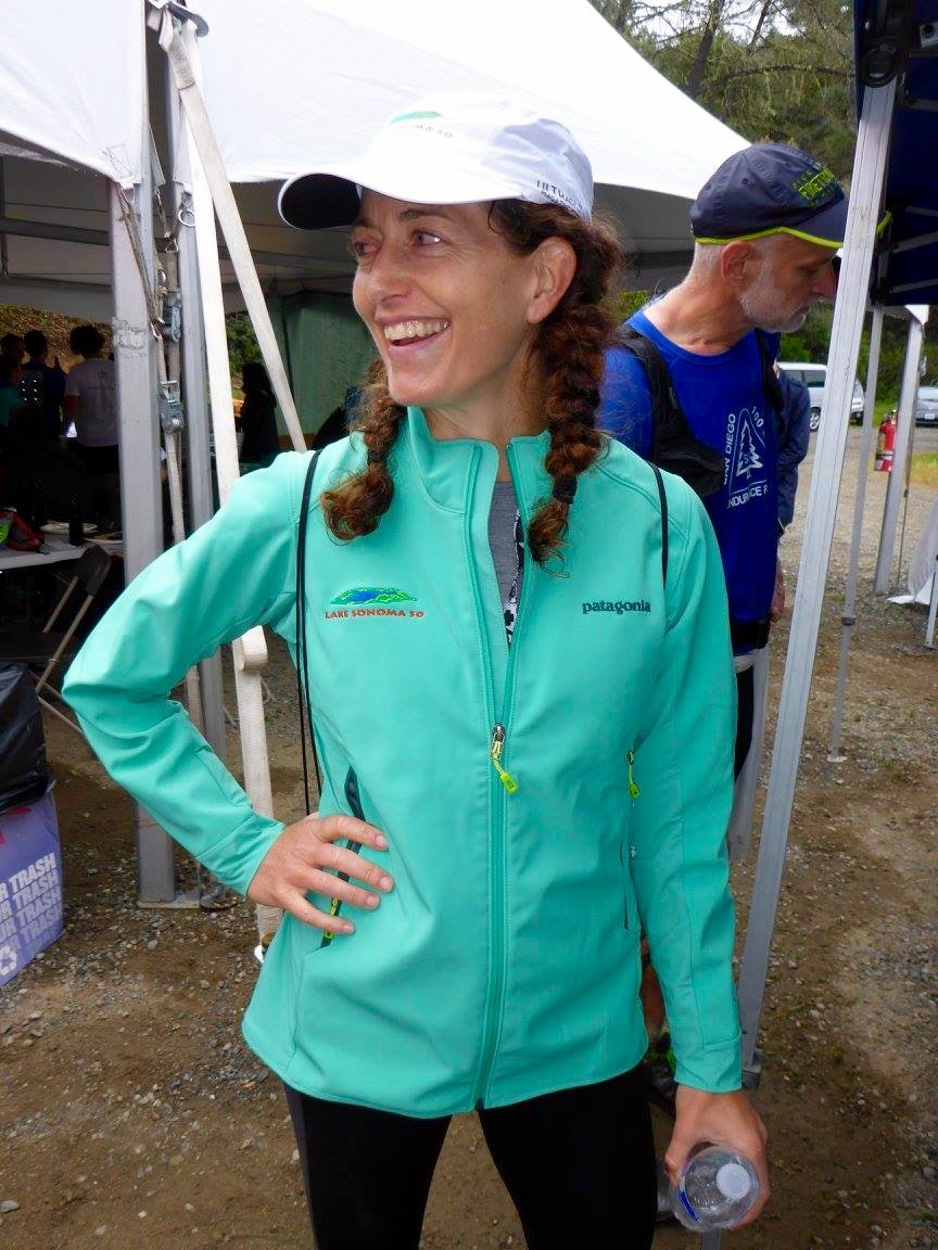 The Lake Sonoma 50 finisher's jacket. Nice, huh?