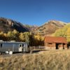 Airstream and barn Fall 2017