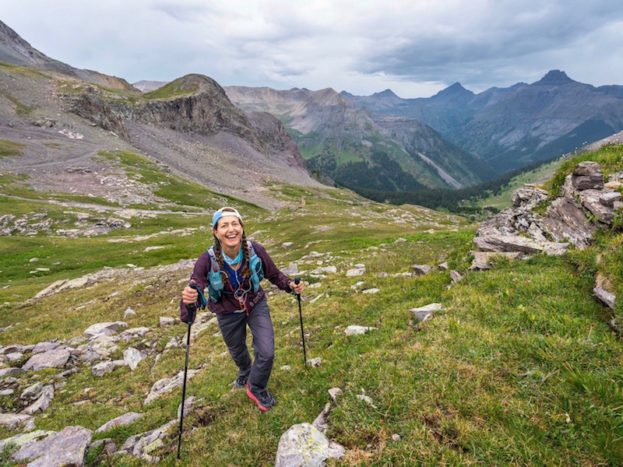 Sarah on Richmond Pass by Howie Stern